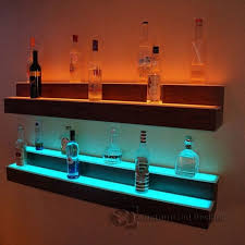 amazing wall mounted bar shelves rebuild wall decor rh enpatate com wood wall bar shelves bar