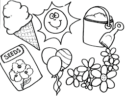 Spring Coloring Sheets Printable Spring Coloring Pages Coloring Kids