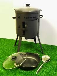 Комплект печь-учаг 295 мм + Казан 5 литров + <b>Жаровня 280</b> мм ...