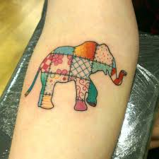 patchwork elephant | skin mixed with graphic representations of ... & patchwork elephant Adamdwight.com