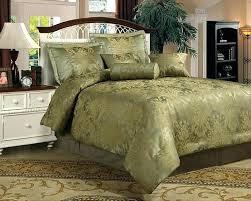 sage bedding set green quilt set sage green comforter set new queen 7 piece olive 4