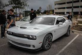 dodge challenger white 2015. 2015 dodge challenger srt hellcat showing up at cars and coffee youtube white