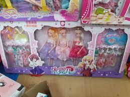 Chỉ 240,000đ - Hộp búp bê barbie lớn kèm nhiều phụ kiện 80cm