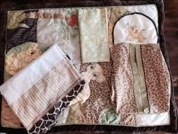kidsline 4pc crib set nursery uni the lion king simba nala quilt crib skirt