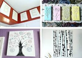 artwork ideas for canvas wall art projects diy