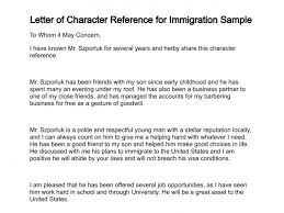 Bunch Ideas of Sample Reference Letter For A Friend To Immigration With Additional Cover Letter