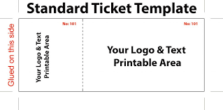 Admit One Ticket Template Free Best Ticket Template Free Projet44