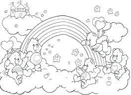 Coloring Pages Rainbow Brite Pdf Free Unicorn Ra Page Printable Baby