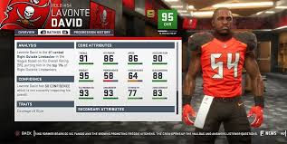 Tampa Bay Buccaneers Depth Chart 2019 Madden 19 Tampa Bay Buccaneers Player Ratings Roster