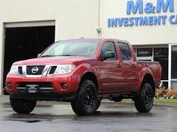 lifted nissan trucks. Perfect Nissan 2016 Nissan Frontier SV  4X4 Crew Cab 6Cyl LIFTED  Photo Throughout Lifted Trucks A