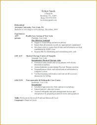 Resume Setup Examples Threeroses Us