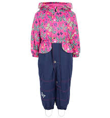 <b>Комбинезон Saima</b> утепленный, цвет: синий/розовый a1b5a93c ...