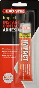 adhesives epoxies evo stik impact instant contact adhesive