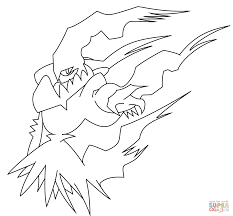 Small Picture Darkrai coloring page Free Printable Coloring Pages