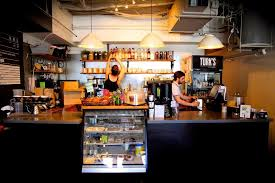 coffee bar. Turks Coffee House Was The First Indie Bar On Commercial Drive. Commitment Has Always Been About Excellent (Milano Coffee) And Our I