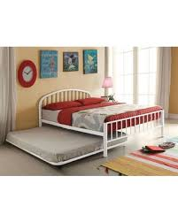 Acme Furniture Cailyn Collection 30465FWHT 2 PC Bedroom Set with Full Size Bed + Trundle in White from AppliancesConnection | People