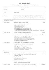 general laborer resume skills general laborer resume writing guide 12 free templates