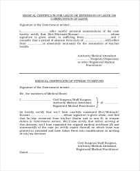 12 Sample Medical Certificate From Doctor Pdf Word Sample