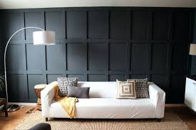 wood paneling ideas for walls chic black wood panel wall in a contemporary living room wood