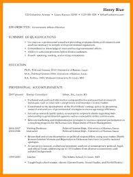 Resume Examples For Government Jobs Sarahepps Com