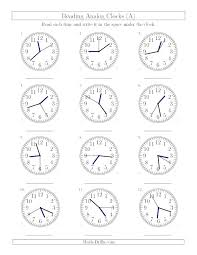 Free Worksheets Learning Clock Times For Kids Happiness Is Crafting ...