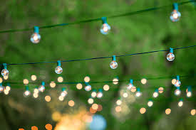 decorative outside lights with led string lights battery operated string light