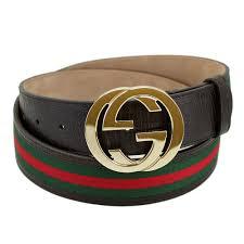 Mens Designer Belts Australia Gucci Men Belt Interlocking Grip G Buckle 100cm 40 Inches Brown X Red Green 114876 H17ag