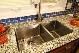 diy recycled glass countertops