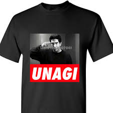 T Shirt Casual Man Tees Friends Tv Show Unagi Joey Ross Rachel Nice Awesome T Shirt Best Birthday Gift Coat Clothes Tops