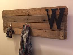 Used Coat Rack Beauteous Weekend DIY Pallet Wood Coat Rack A Life Inspired