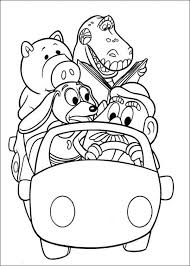 Toy Story Coloring Page トイストーリー ディズニーぬり絵塗り絵