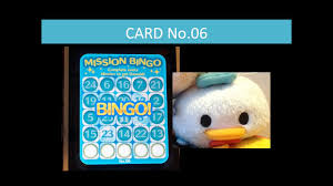 disney tsum tsum bingo card 6 missions 3 and 9 gameplay horizontal bingo 2