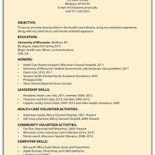 Sample Basic Resume Template in Coat Check Resume