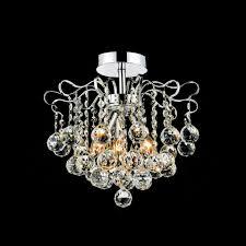 large size of furniture lovely semi flush crystal chandelier 19 0000731 14 formosa mount round chrome