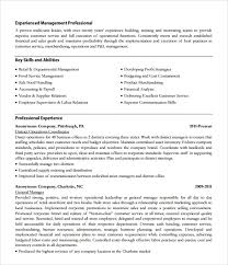 Sample Store Manager Resume 10 Free Documents In Pdf
