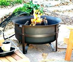 iron fire pit cast wrought pits outdoor with grill
