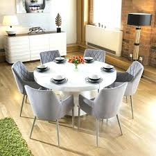 dining tables 6 chairs circular dining table for 6 large white circular dining table 6 ice grey carver chairs round dining table and 6 chairs