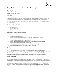 Administrative Assistant Responsibilities Resume Resume For Your