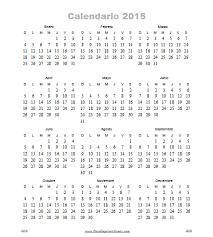 Calendarios Para Imprimir 2015 Almanaque 2015 Para Imprimir Gratis Paraimprimirgratis Com