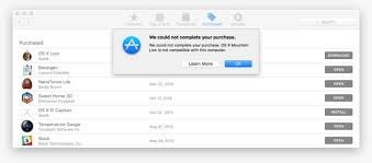 Download And Install Old Versions Of Os X On A Mac