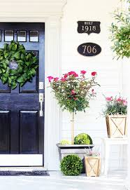 Image Toddlers Front Door Spring Thistlewood Farm Spring Door Decorating Ideas Thistlewood Farm