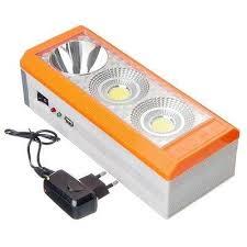 <b>Фонарь аккумуляторный</b> переносной <b>3LED</b> купить за 238 руб ...