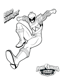 Power Rangers Coloring Pages Dino Charge Power Rangers Coloring
