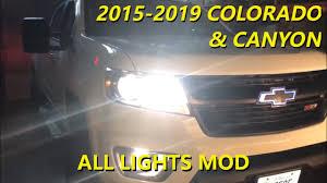 2016 Chevy Colorado Fog Light Kit Fog Lights On With High Beams All Lights Mod 2015 2019 Colorado And Canyon