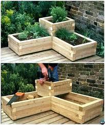 raised garden bed wood type raised garden planter box plans best of corner wood bed type raised garden bed wood