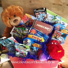 gift basket for vancouver children s hospital