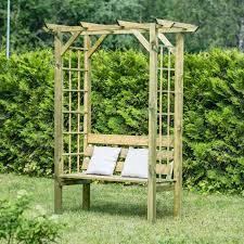 harrier garden arbour seats net world