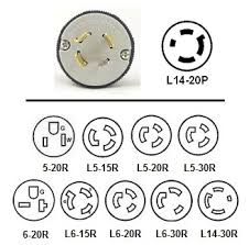 nema 14 30 wiring diagram 25 wiring diagram images wiring 0003523 328 l14 20p power cord plug adapters twist lock l14 20 plug to 15a nema 14
