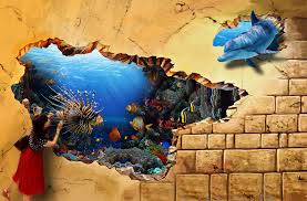 Enchanting 3D Wall Paintings Gallery - Best idea home design .