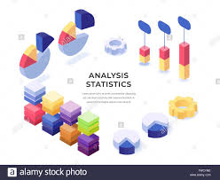 Informational Text With Graphs And Charts Different Templates Of Colorful Charts Diagram Graphs